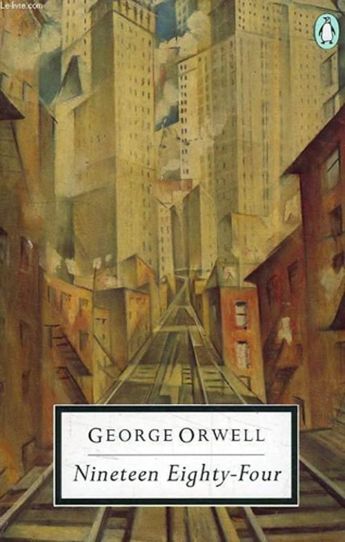"1988 Penguin edition, featuring ""The Soul of the Soulless City"" by etcher and lithographer Christopher R. W. Nevinson."