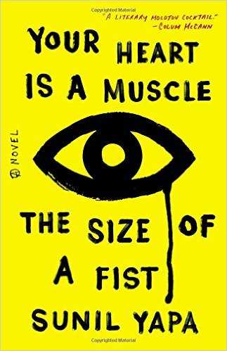 Interestingly, Your Heart is a Muscle The Size of a Fist sports a yellow book cover in the US...