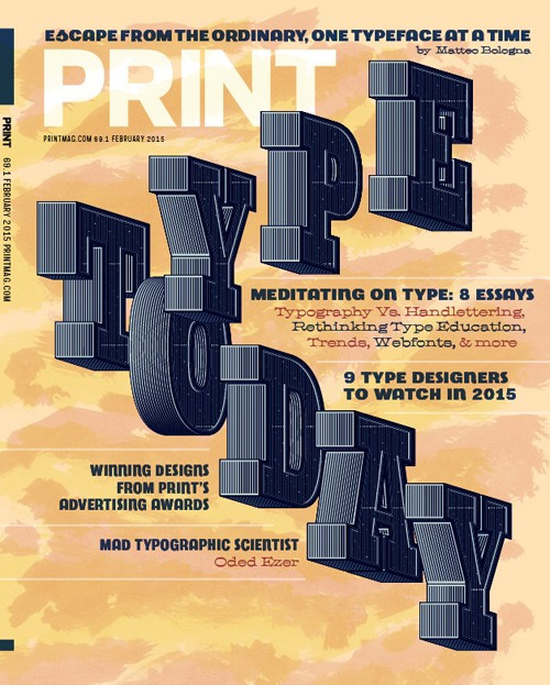 Print's Typography Issue