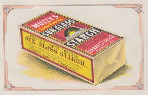muzzy's sun gloss starch