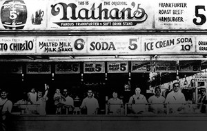 Nathan's Famous 100-Year-Old Logo