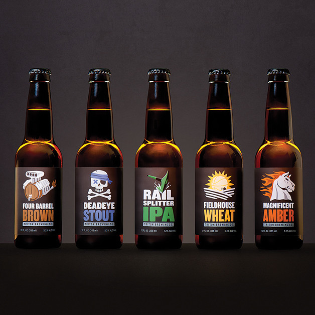 Work for Triton Beers by Studio Science