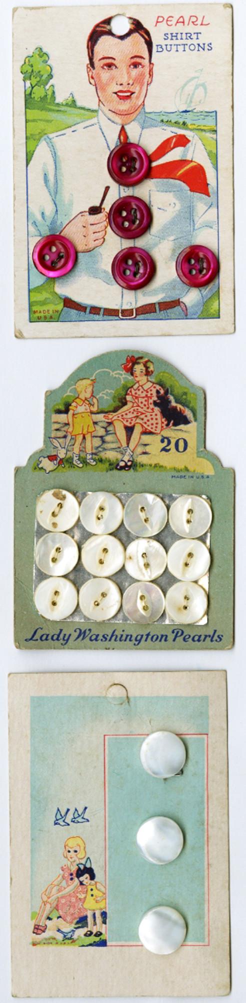Pearl Shirt Buttons