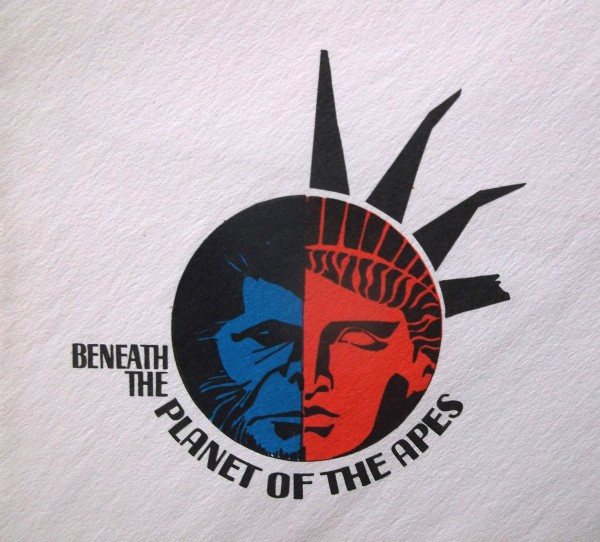 Beneath the Planet of the Apes logo sketch, 1970