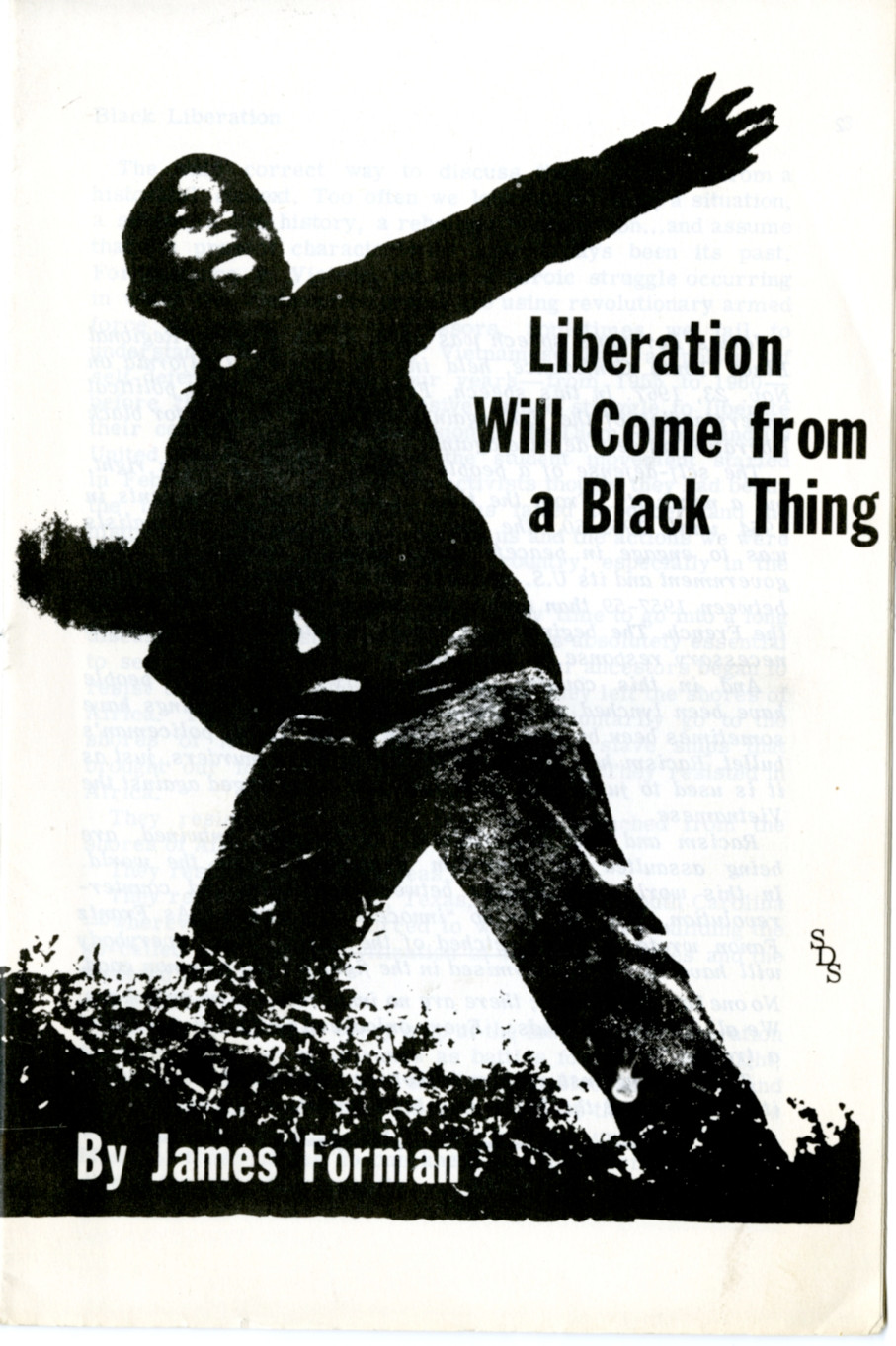 Liberation will come from a Black thing