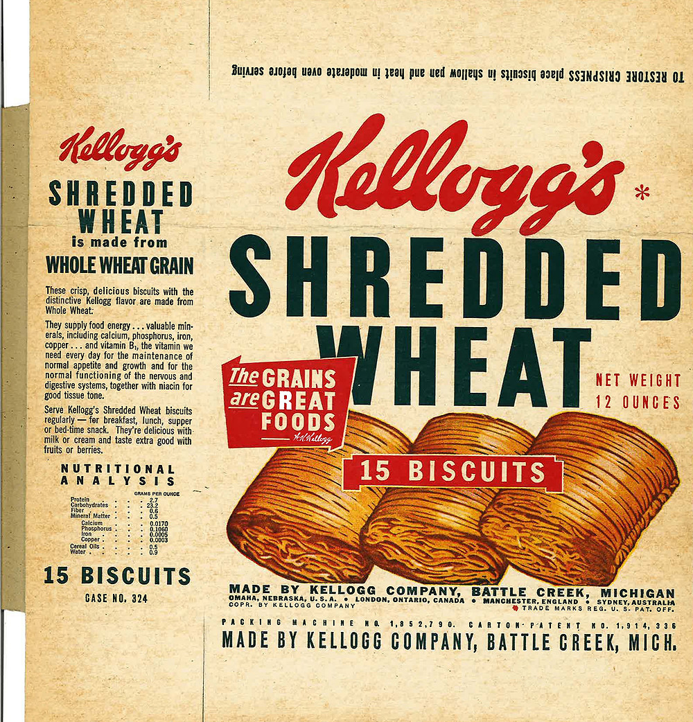 kelloggs Shredded wheat