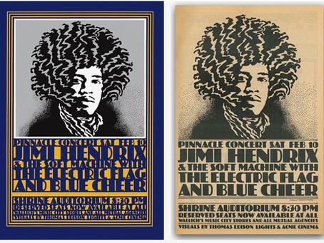 Hendrix at 70, Hamersveld at 45