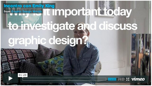 Why is it important today to investigate and discuss graphic design