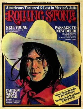 neil young at rolling stone