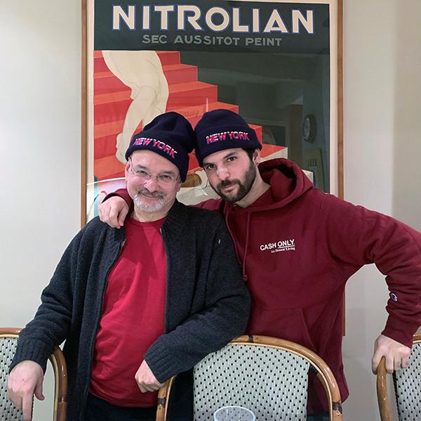 Nico Baby Yerrrda and his dad