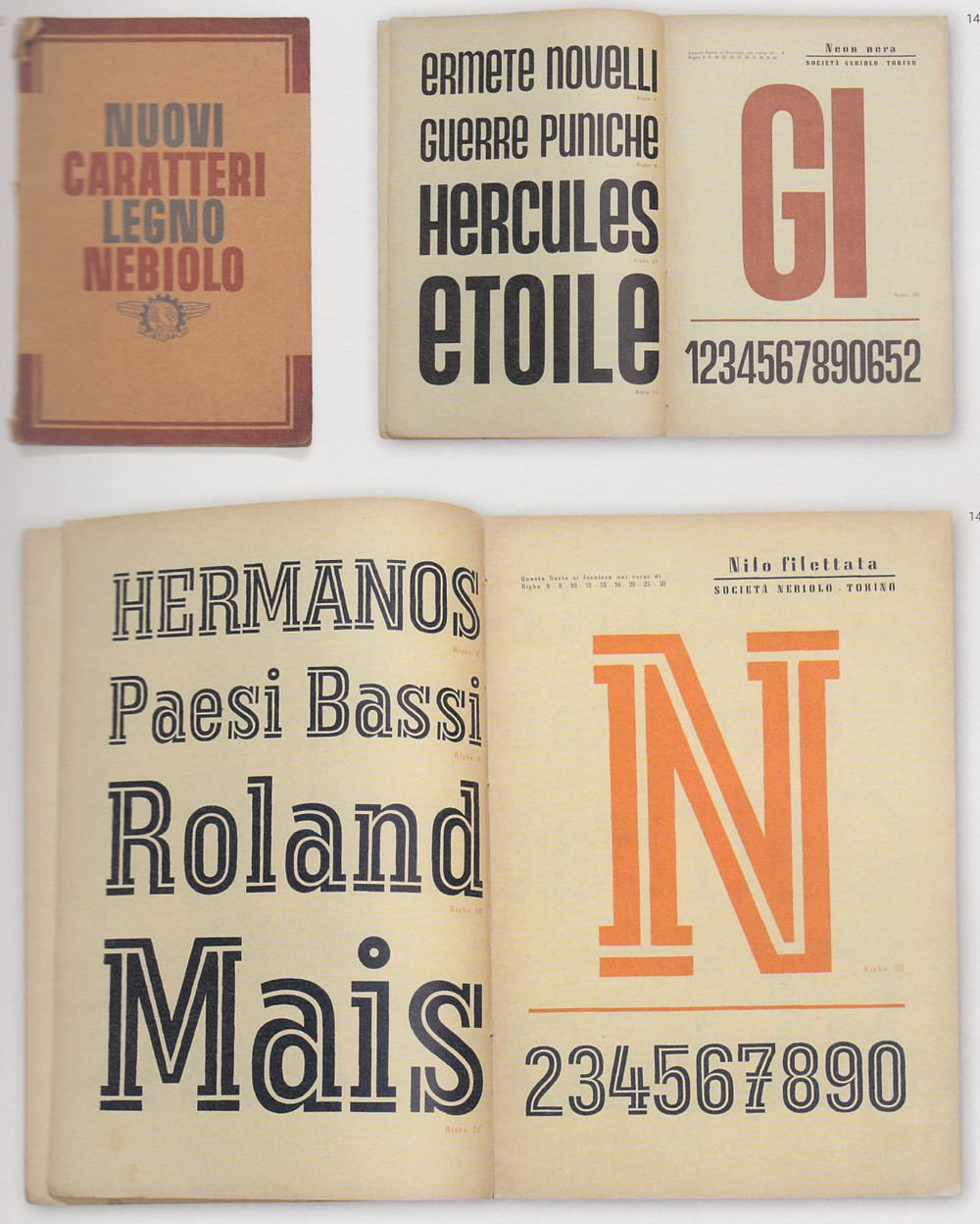 Italian history of wood typefaces