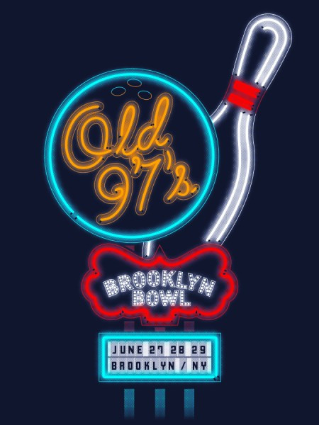 Old 97's Bowling Poster