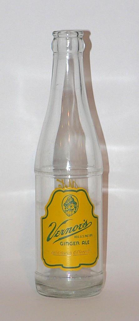1950s Vernor's ginger ale bottle