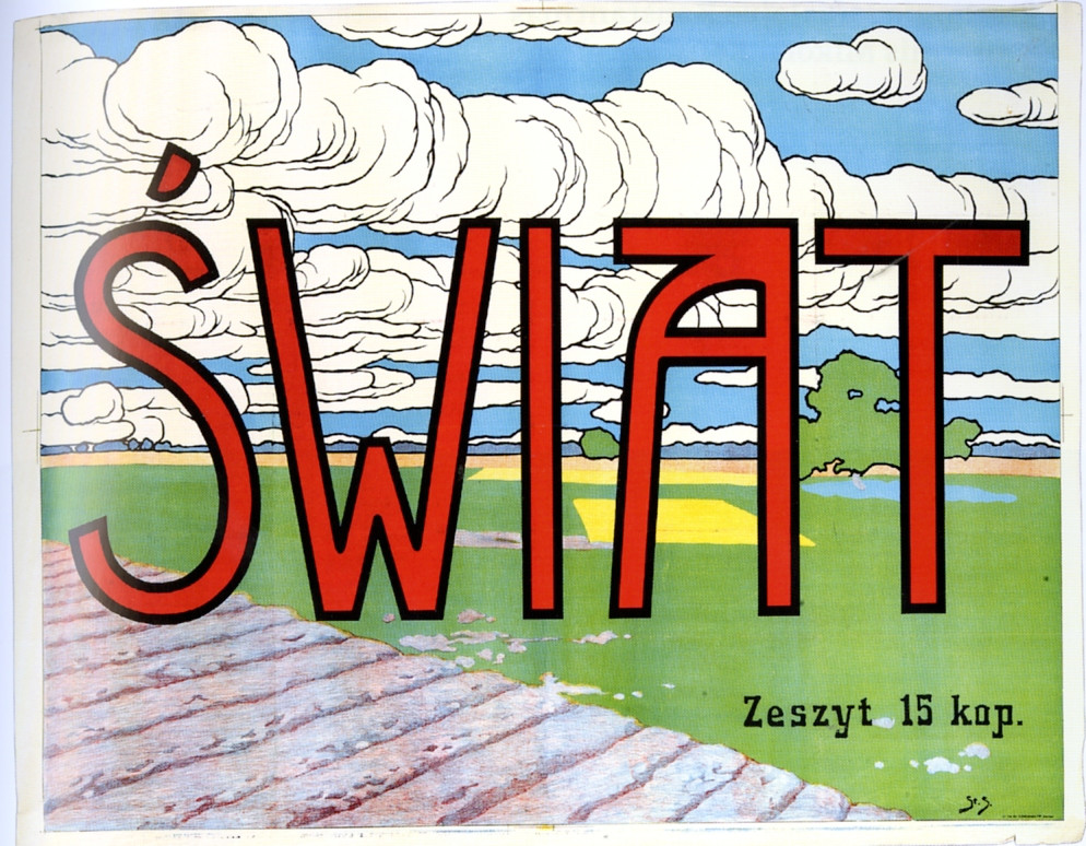 Stanislaw Sawiczewski, Swiat, illustrated magazine, 1907.