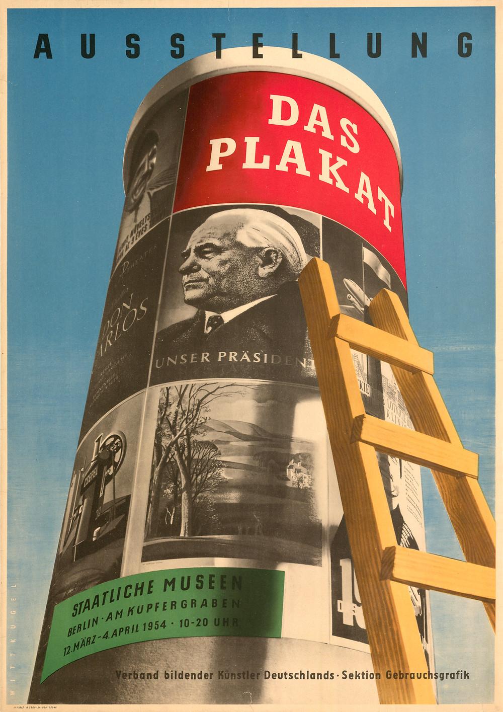 Wittkugel_1954_Das-Plakat