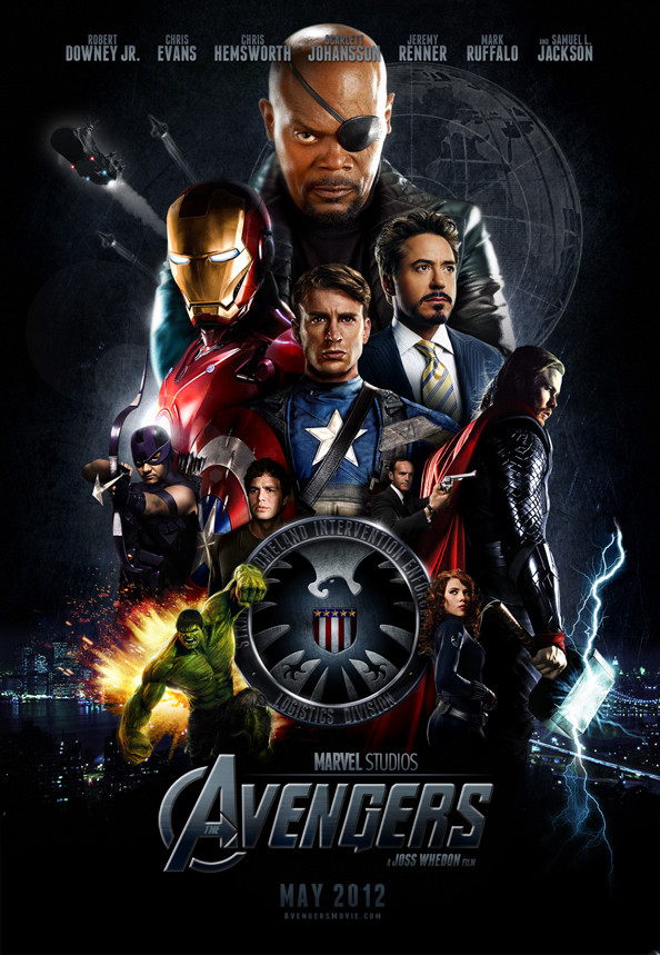 Official Avengers Poster