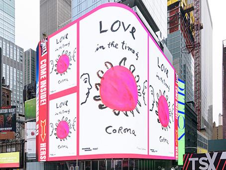 #CombatCovid: Design Takes Over Times Square