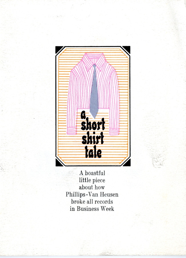 Phillips-Van Heusen Shirt Tale record breaking tale