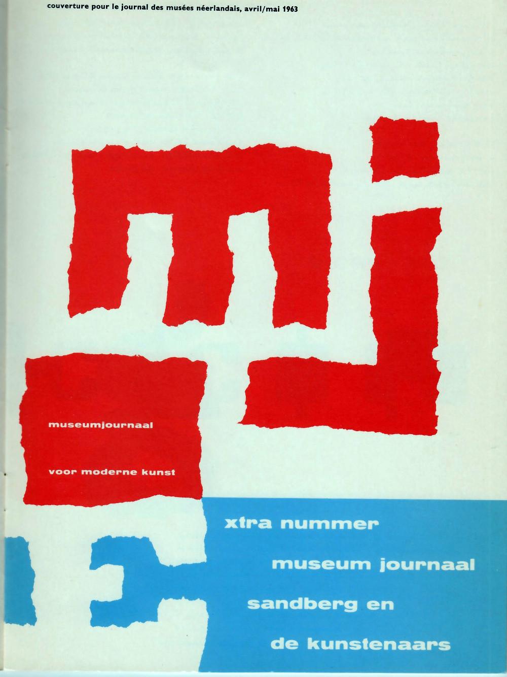 Cover for the Journal Musées Néerlandais, 1963.