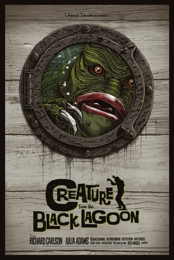 'Creature from the Black Lagoon' by Gary Pullin