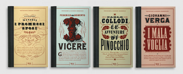 Book designs for Rizzoli (designed with Louise Fili), 2011