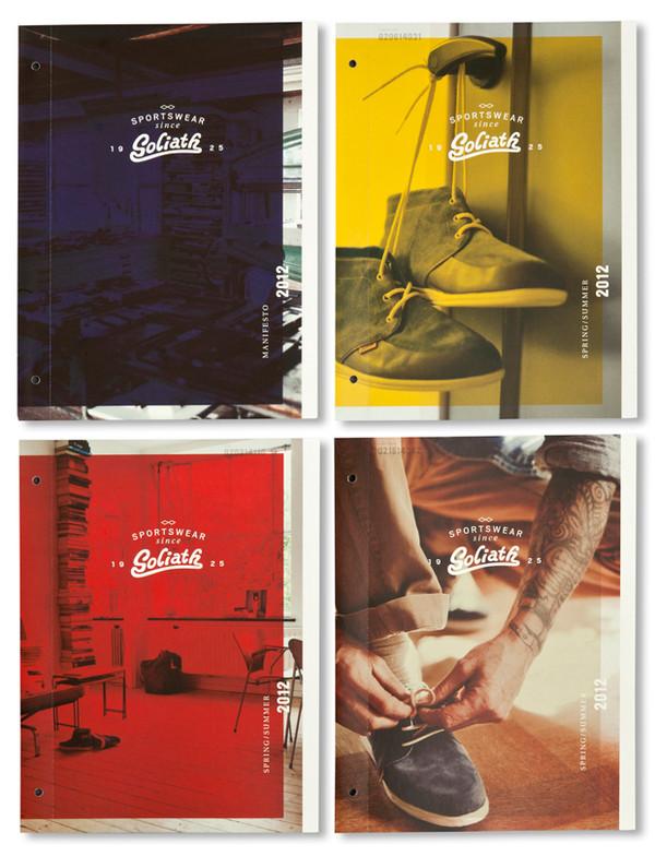 Goliath Sportswear re-branding by Studio Beige, via Behance: http://on.be.net/1yc4ZQA