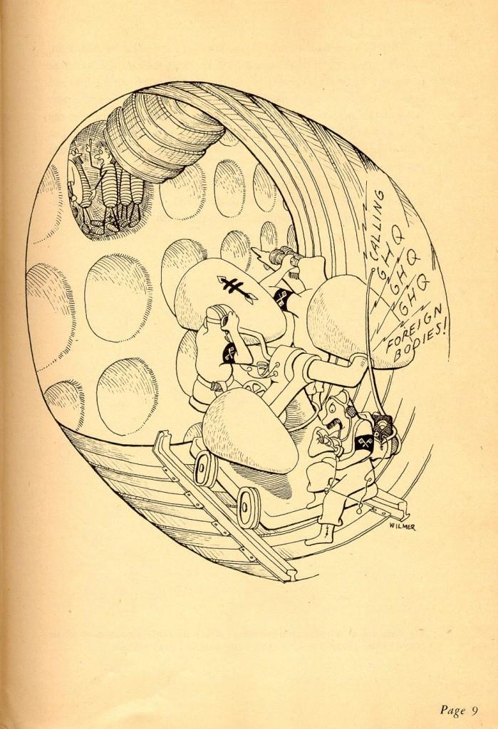 Huber and Corky: Comic Bacteria