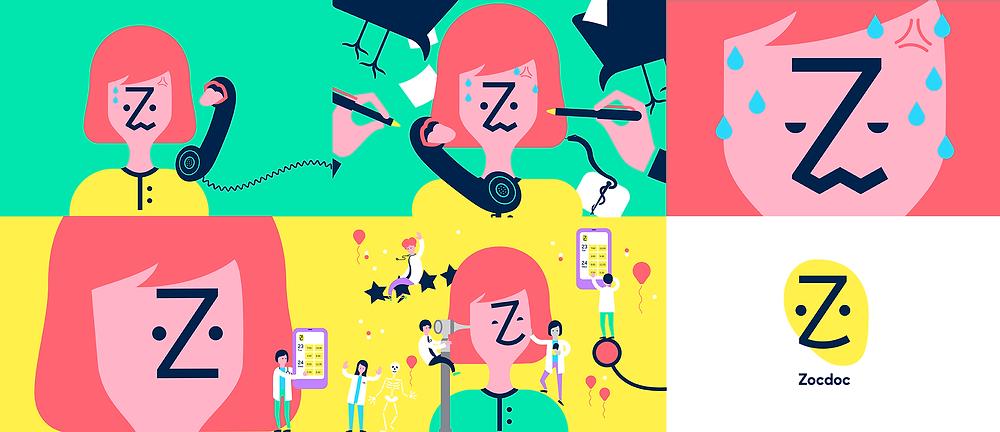 best brand identities: ZocDoc