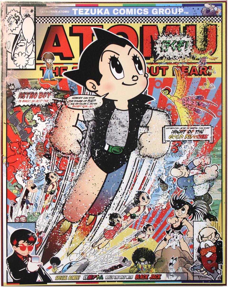 Sean Danconia: Astro Boy, The Astounding Atomic Automaton (Tezuka Robotics)
