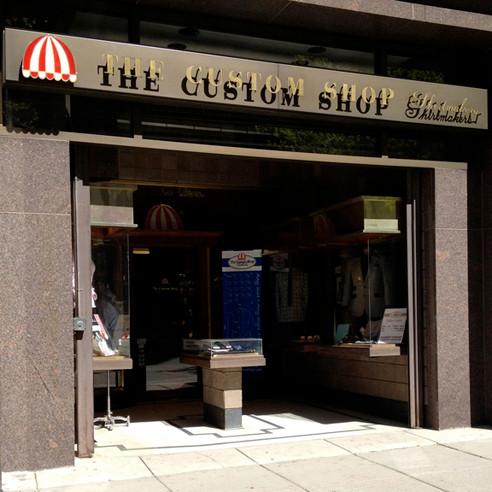 Custom Shop Exterior 2012