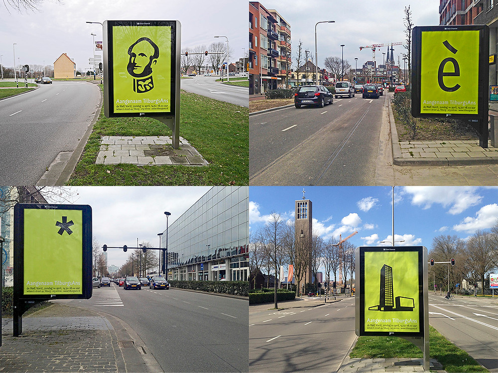 tilburg city posters