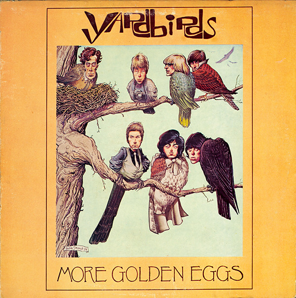 "The Yardbirds, More Golden Eggs, 1974 William Stout: ink and watercolor on board, 11"" x 15"" Courtesy of the artist"