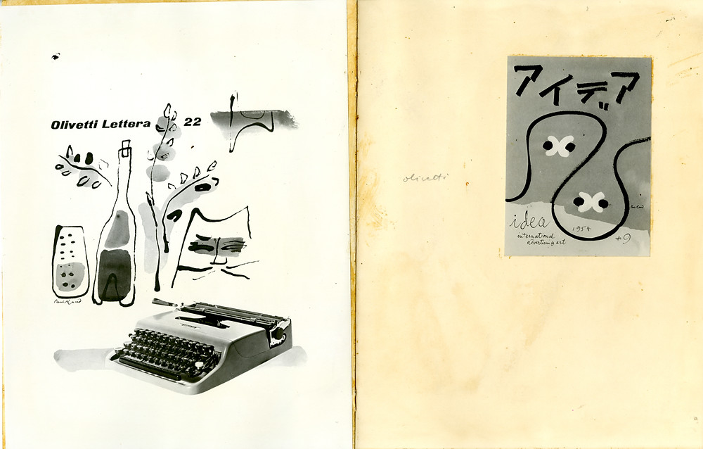 Paul Rand's untitled book sketches