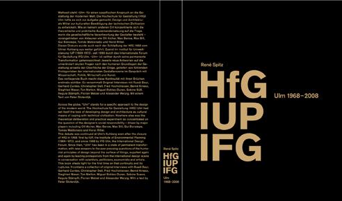 René Spitz - HfG IUP IFG: Ulm 1898-2008