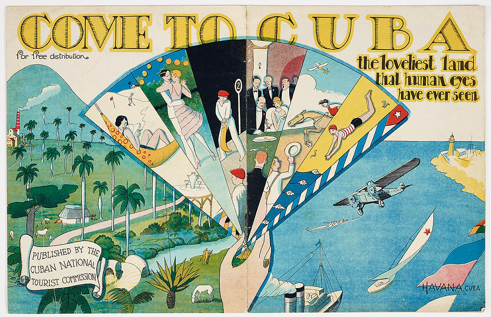 Pamphlet, Come to Cuba, c. 1930