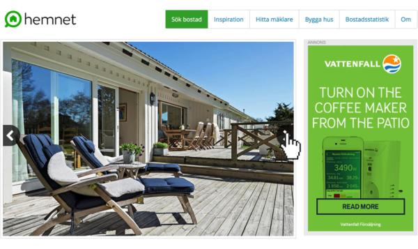 web banner design patio