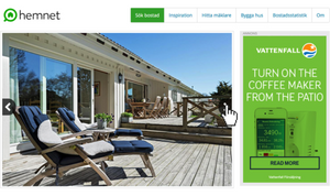 web banner design patio