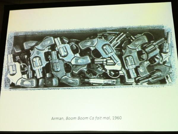 Arman, Boom Boom Ca fait mal, 1960