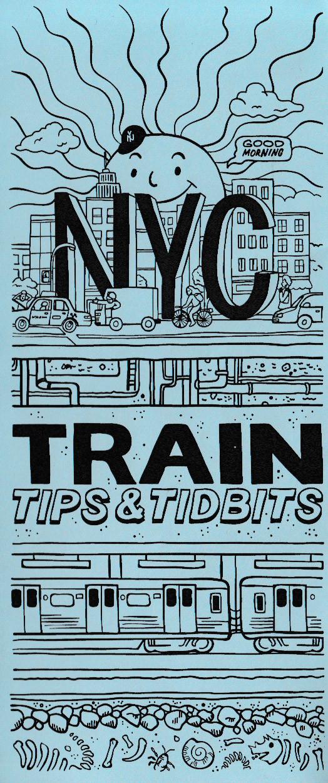 """New York Nico and Naomi Otsu created """"NYC Train Tips & Tidbits."""""""