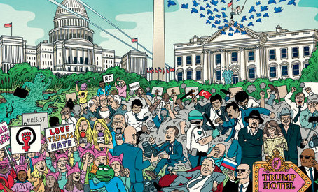 Magazine Cover Design in the Age of Trump