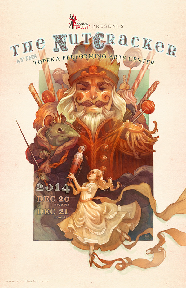 Illustration: The Nutcracker Poster Design