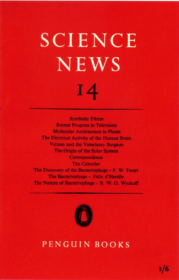 Science News 14 (Penguin Books, 1945).