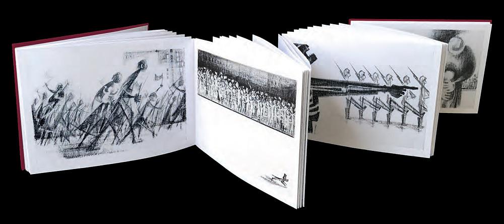 book accordian