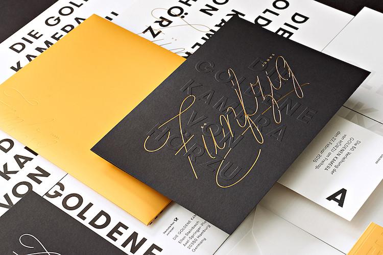 golden camera brand identity5