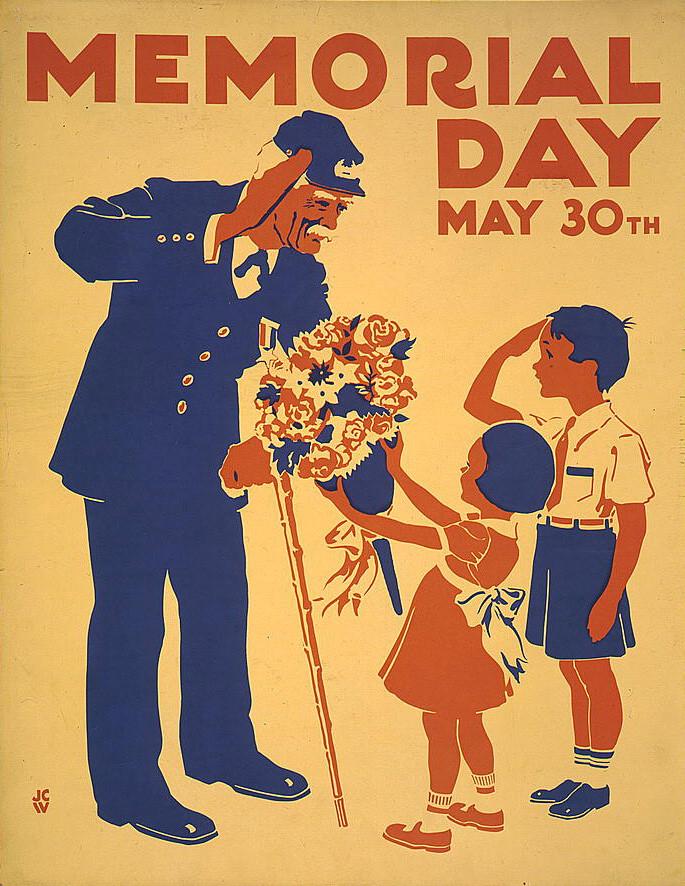 memorial Days card