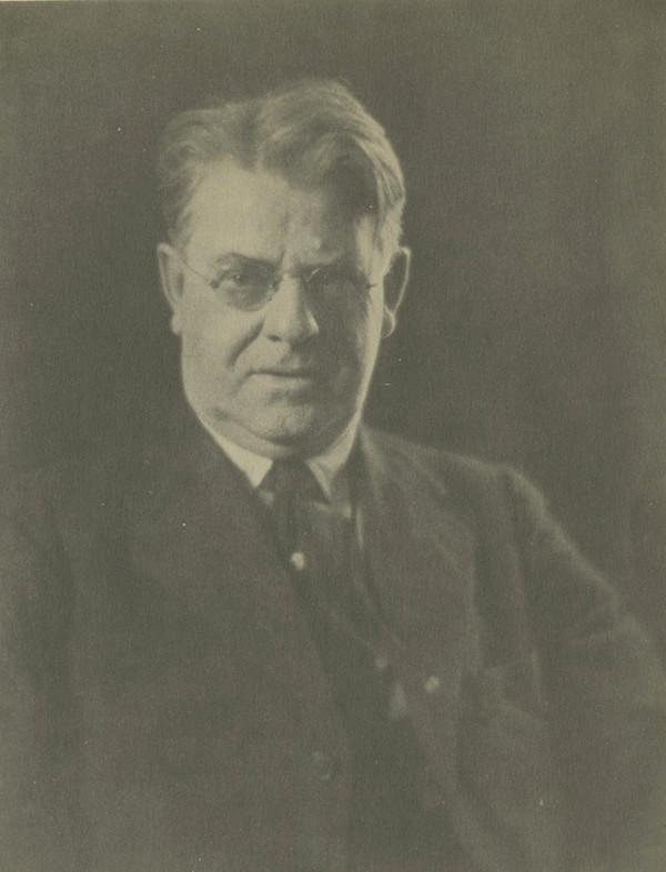 A portrait of Frederick W. Goudy