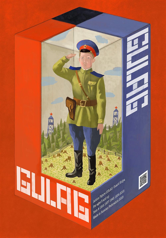 Gulag Action Figure.