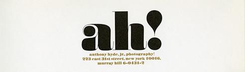 Designer: Herb Lubalin, USA