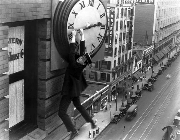 "Scene from Christian Marclay's ""The Clock"""