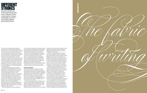 Eye Magazine The Fabric of Writing